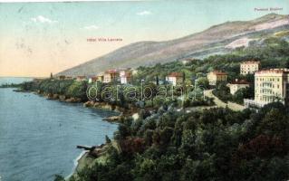 Lovran, Lovrana; Hotel Villa Lovrana, Pension Breiner