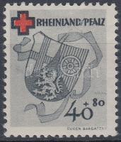 Rheinland-Pfalz 1949 Vöröskereszt Mi 45A