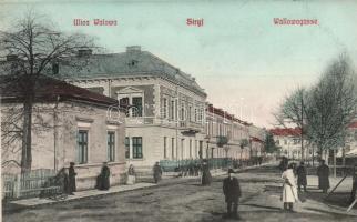 Stryi, Stryj; Ulica Walowa, Wallowagasse / street