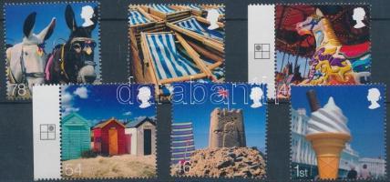 2007 Kirándulás a tengerpartra sor (közte ívszéli bélyegek) Mi 2519-2524