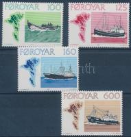 1977 Halászhajók sor Mi 24-27