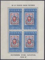 POLSKA Stamp Exhibition minisheet, POLSKA bélyegkiállítás kisív