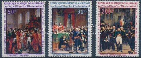 1969 200 éve született I. Napóleon sor Mi 360-362