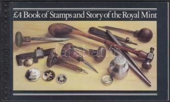 Queen Elizabeth II. - Royal Mint stamp-booklet, II. Erzsébet királynő - Royal Mint bélyegfüzet
