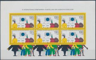 1990 10. Nemzetközi Ifjúsági Bélyegkiállítás blokk Mi 21