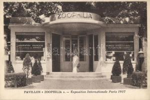 1937 Paris, Exposition Internationale, Pavillon 'Zoophila'