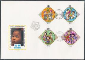1979 Nemzetközi Gyermekév sor Mi 1193-1199 2 FDC