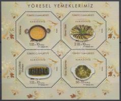 Traditional food minisheet, Hagyományos ételek kisív