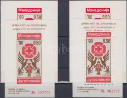 Compulsory surtax stamp: Campaign against tuberculosis perforated and imperforated de Luxe block in decorative cover, Kényszerfelár bélyeg: Tuberkulózis elleni kampány fogazott és vágott de Luxe blokk díszborítóval