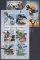 2011 Ragadozó madarak kisív Mi 4924-4929 + blokk Mi 506