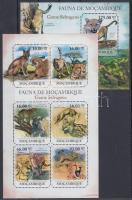 2011 Nagymacskák kisív Mi 5015-5020 + blokk Mi 519