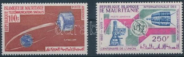 1964-1965 Műhold és Távközlési unió értékek Mi 230, 251