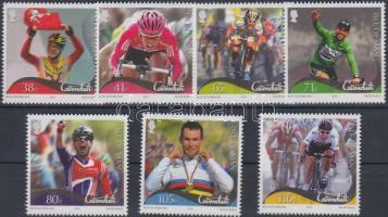 2012 Mark Cavendish kerékpározó sor Mi 1785-1791