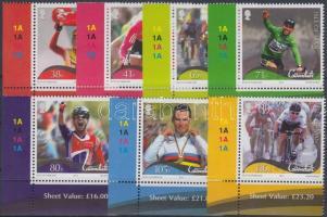 2012 Mark Cavendish kerékpározó ívsarki sor Mi 1785-1791