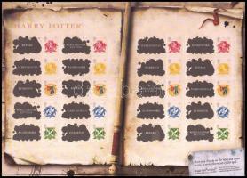 2007 10 éve jelentek meg az első Harry Potter-regények bélyegfólia Mi 2547 Zf - 2551 Zf