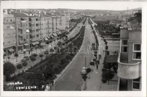 Ankara, Yeni sehir / new town, automobiles