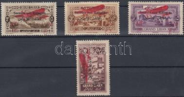 1926 Forgalmi értékek Mi 85, 87-89