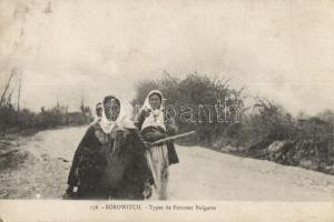 Bulgarian folklore from Sorowitch, Szorovics, bolgár folklór