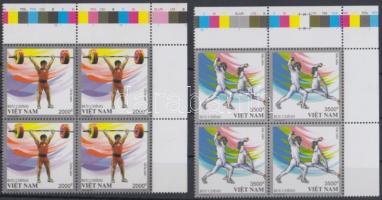 London Olympics set in margin blocks of 4, Olimpia London sor ívsarki négyestömbökben