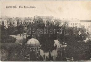 Ternopil, Tarnopol; Plac Sobieskiego / square