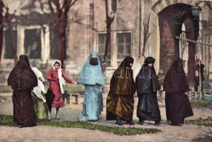 Turkish folklore, women, Török asszonyok, folklór