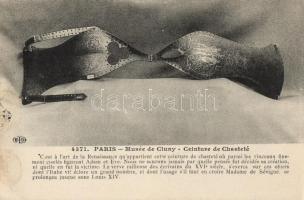 Paris, Cluny Museum, chastity belt
