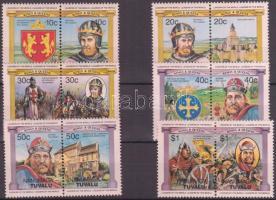English monarchs 6 pairs Angol uralkodók 6 pár
