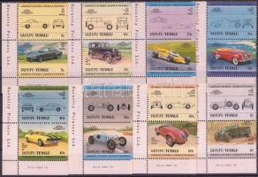 Autók (II) 8 pár Cars (II) 8 pairs