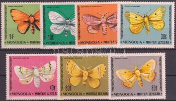 1977 Lepke sor Mi 1099-1105