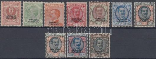 1926 Forgalmi értékek Mi 93-94, 98-105