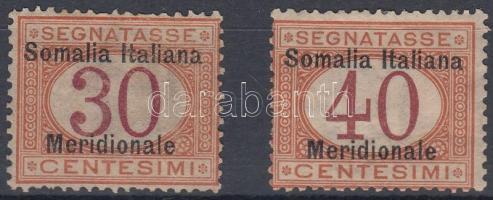 1906 Portó értékek Mi 4-5