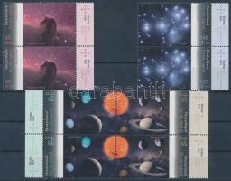 2011 Ifjúság; Csillagászat 2 sor párokban Mi 2883-2886