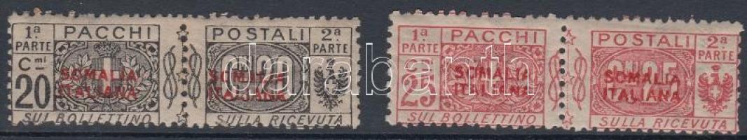 1926 Csomagbélyeg: Címer bélyegpárok Mi 27-28