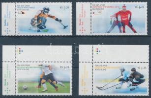 2010 Sportért (I-II) 2 sor Mi 2781-2782 + 2788-2789