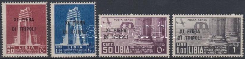 1937 Tripoli vásár sor Mi 85-88