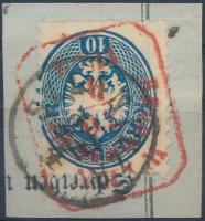 SZLANITZA (Gudlin ebben a formában nem ismeri / not listed in Gudlin) + piros / red WIEN