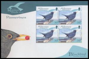 2007 Őshonos madarak bélyegfüzet MH 0-9 (Mi 304-309)
