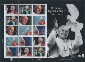 2005 II. János Pál pápa emlékére kisív Mi 1946-1950