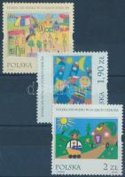 2001 Gyermekrajzok: a 21. századi Lengyelország sor Mi 3921-3923