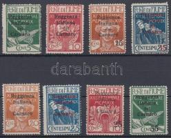 Carnaro-sziget 1920 Forgalmi értékek Mi 3-4, 6-10, 12