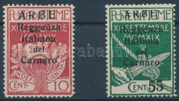 1920 Forgalmi értékek Mi 21 I + 25