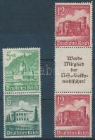 1940 Téli segély 2 db füzet összefüggés Mi S258 + S263