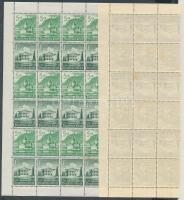 1940 Téli segély bélyegfüzet teljes ív Mi MHB 67 (hajtott, rozsdafoltos)