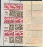 1940 Téli segély bélyegfüzet teljes ív Mi MHB 68 (hajtott, rozsdafoltos)