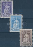 1950 Szent Év sor Mi 111-113