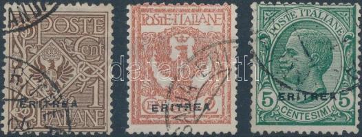 1924 Forgalmi sor Mi 80-82