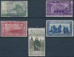 1926 Szent Ferenc sor Mi 104-108