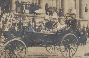 Potsdam, Prince Eitel Friedrich and his wife