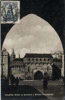 Krakow barbican, St. Florian's Gate