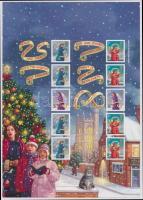 2007 Karácsony fél fólia ív Mi 2590II-2591II + 2594II